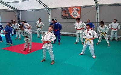 Obóz Judo Łazy 2015