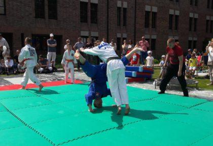 Pokaz Judo – Jarmark Dominikański 24.05.2016