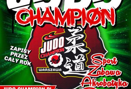 Plakat Judo Champion Warszawa kopia